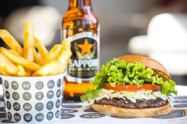 Burger Project: The Japanese & Sapporo Beer