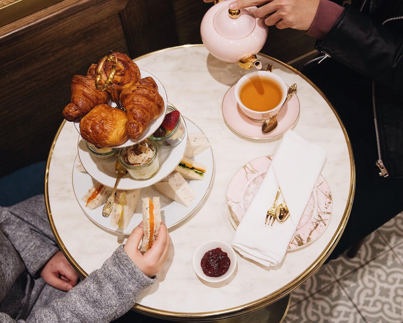 High Tea Tips : High tea traditions and etiquette st collins lane